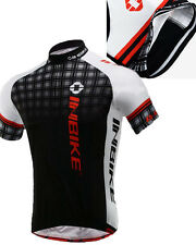 Men Cycling Jersey Pro Cycle Clothes Bicycle Wear Breathable Bike T-Shirt Tops L