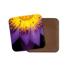 Purple Lotus Flower Coaster - Flowers Floral Pretty Nature Plant Mum Gift #16654