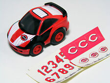 TAKARA TOMY Choro Q Toyota CELICA SS-II MLB Reds, Pullback Miniature car New