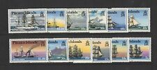 1988 Pitcairn Islands SG 315/26 Ships muh set of 12