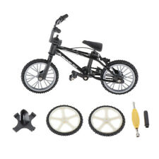 Miniature Desk Gadget BMX Bicycle Model Finger Board Bike Toy 1pcs/Set Black