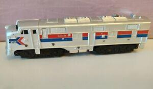 Marx O Gauge Amtrak Custom Painted and Decorated Diesel Locomotive A -Unit