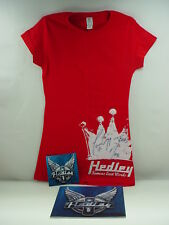 Hedley CONCERT SHIRT FAMOUS LAST WORDS SIGNED PLUS AUTOGRAPHED CD NEVER TOO LATE
