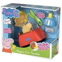 Peppa Pig Car Shape Pop Up Toaster Toy with Lights and Sounds