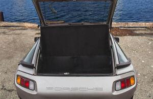 Porsche 928, 1980-1995 Luggage / Cargo Hatch Boot Cover, BLACK, NEW