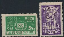South Korea. 1948. Olympic Games. Complete MNH set
