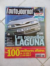 L'Auto-Journal 1998 n°487 Renault Laguna Bmw 328i Opel Astra