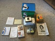 Vintage Lot of Polaroid Land Camera Swinger, model 20 & extras.  See photos.