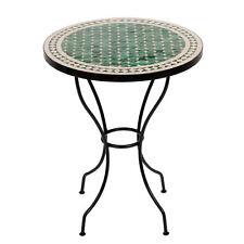 Marokkanischer Mosaiktisch orientalischer Tisch Bistrotisch Gartentisch 60cm Meb