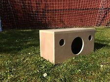 Quality Hardwood Ply Guinea Pig House Hide Shelter - Rat, Degu, Chinchilla