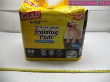 100 Count Glad Pets Carbon Activated Puppy Dog Training Pads