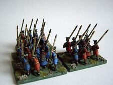 24 x 15mm Ancient Chinese Chin HAN spearmen da museo per dbmm Nebbia