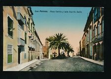 Spain Gran Canaria LAS PALMAS Plaza Castillo c1900/10s? PPC