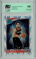 Gary Trent Jr. 2018 Donruss Optic #199 Shock SP Rookie Card PGI 10