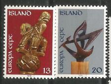 ISLANDIA EUROPA cept 1974 Sin Fijasellos MNH