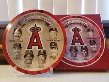 Los Angeles Angels Of Anaheim Hall Of Fame Season Ticket Commemorative Plate