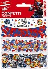 TRANSFORMERS CONFETTI TABLE SCATTERS DECORATIONS LOOT BAGS FILLERS -  34 GRAMS