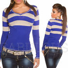 NEW SEXY WOMEN'S KNITTED JUMPER TOP SWEATER LADIES EUROPEAN XS S M SIZE 10 8 6