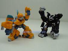 Transformers Movie 2007 Robot Heroes Action Figures BUMBLEBEE BARRICADE