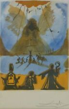 """SALVADOR DALI """"Aphoteose"""" 1971 HAND SIGNED Etching framed """"Apotheosis"""""""