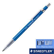 New Staedtler 2mm Holder Mechanical Pencil Blue Body [NEW] Ship Free!! Drop Pen
