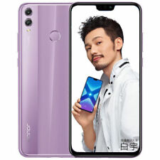"Huawei Honor 8X 6.5"" 64Go Violet/Purple Dual Sim Free 4G Android 8.0 Smartphone"