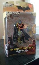 Batman Begins Electro Strike Batman Action Figure Power tek Mattel 2005 NEW
