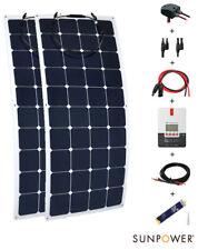 Kit panneau solaire 300W 12/24V camping-car complet flexible