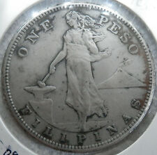 1909 One Peso USPI