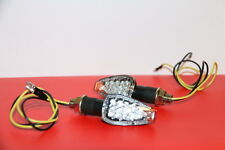 2X LED MINI BLINKER KTM 690 Duke Enduro R SMC/SM R, 600 4S KLARGLAS Schwarz