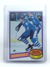 1980-1981 Michel Goulet #67 Quebec Nordiques OPC O-Pee-Chee Hockey Card H598