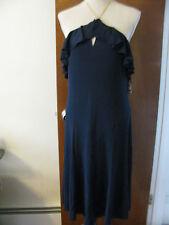 Ralph Lauren Women's  Dark Blue Cocktail NWT Dress With Chain Strap Size12
