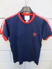 VINTAGE T-Shirt ADIDAS marine Trefoil oldschhol trikot S