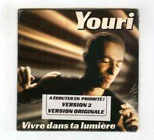 PROMO CD SINGLE FOOTBALL YOURI DJORKAEFF VIVRE DANS LA LUMIERE