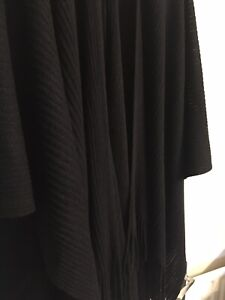 Marks and Spencer Lightweight Black Shawl Wrap One Size NEW