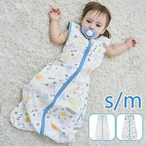 Baby Sleeping Bag 18-36 Months 0.5 Tog Wearable Blanket Sack Swaddle Boys Girls