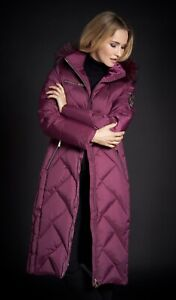 Junge Barolo Down Coat Size 16 with hood RRP £374