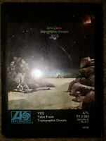 SEALED YES 8-TRACK TAPE TALES FROM TOPOGRAPHIC OCEANS NEW UNOPENED LOOK!!!