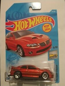 Hot Wheels New For 2021 Factory Fresh '06 Pontiac GTO From D Case Assortment