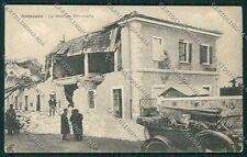 L'Aquila Avezzano Terremoto cartolina QQ3891