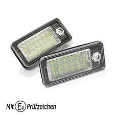LED Kennzeichenbeleuchtung für AUDI A3 8P A4 S4 RS4 8E B6 B7 A6 S6 RS6 4F Q7 4L