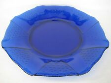 """Cobalt Blue Octagonal Class Large Serving Plate, 13"""" Diameter, 1 1/4"""" High"""