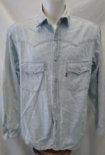 camicia uomo  jeans vintage levi's taglia m