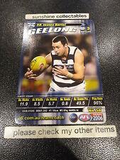 2006 AFL TEAMCOACH BASE CARD GEELONG NO.58 JAMES BARTEL