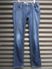 Armani Exchange Women's Blue Jeans White Stitching Cotton Spandex Size 4