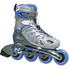 CAS Roller Skates Women's 76mm Wheels Adjustable Inline Skate Size 6-9 Sports