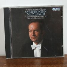 MOZART Symphonie Nr. 26 28 et 30 - Nikolaus Harnoncourt - Teldec – 8.44090