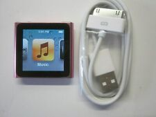 New listing Apple iPod nano 6th Generation Pink (16 Gb)(Personal Engrave)