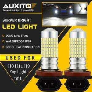 2X H11 H8 LED Fog Light HID White 2800LM Bulb for Honda Civic CRV 2002-2018 EOA
