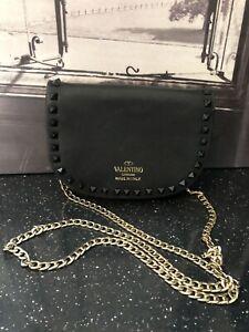 Valentino Garavani Saddle Bag Small Rockstud Bag